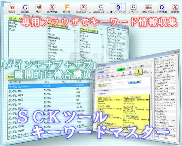 PPC最強支援ツール キーワードマスター登場!