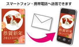 スマートフォン 年賀 メール