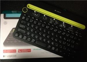LOGICOOLのマルチデバイスキーボードk480買いました