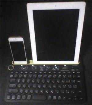 logicool-k480 ipad 縦においても倒れない