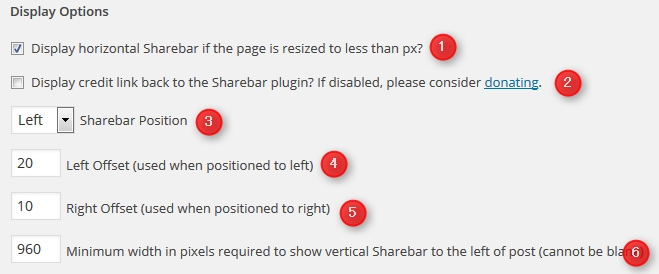 sharebar 設定