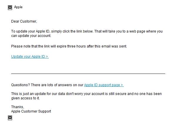 偽apple