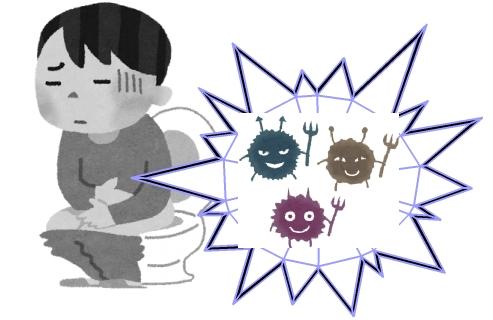 ノロウイルスと風邪が俺の中で同時に発生