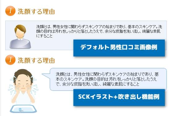 SCK,イラスト,比較