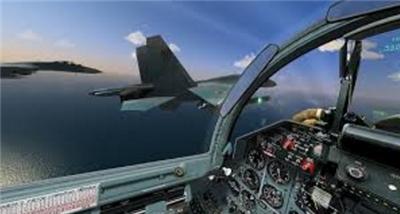 エースコンバット 編隊飛行 横視線