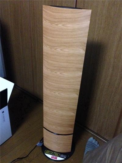 タワー型ハイブリッド式アロマ加湿器「mood」購入レビュー