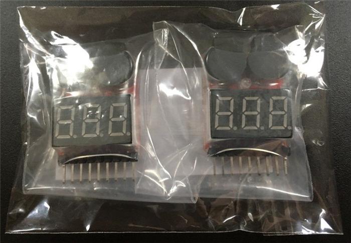 リポバッテリー 1C 1セル用 電圧チェッカー