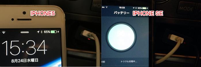 dodocool FMトランスミッター 2.4AだからIPHONEの充電もできる