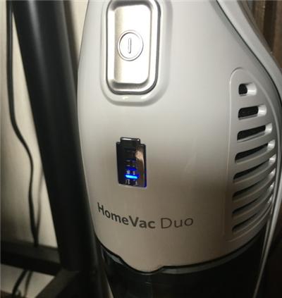 Anker HomeVac Duo バッテリー長持ち