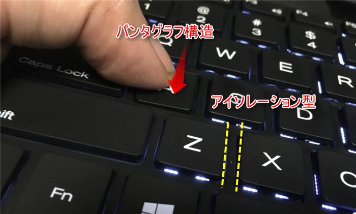 KKmoon キーボード パンタグラフ アイソレーション