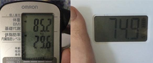 体脂肪やBMIは測れないけど「永久に使える」シンプルなデジタル体重計