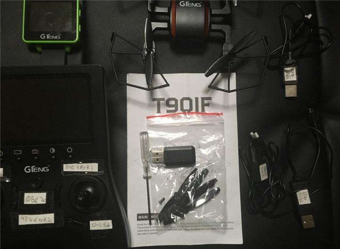 GoolRC GTeng T901F梱包内容