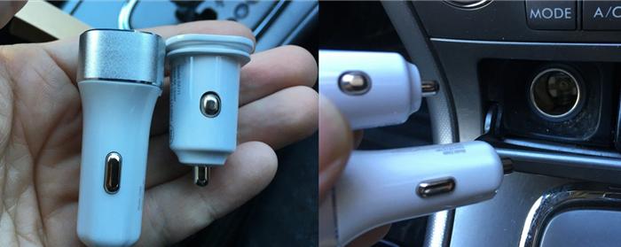 USBカーチャージャー 長さ