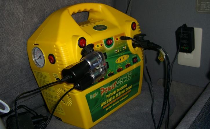 普通のバッテリーユニット