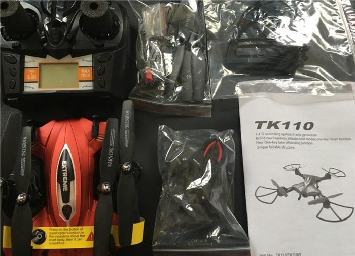 Skytech TK110HW梱包内容