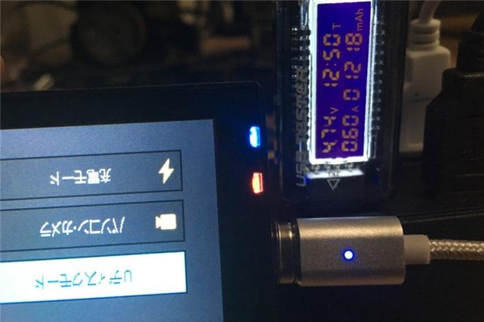 MicroUSB磁力ケーブルレビュー