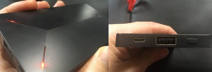 REMAX ALIENS モバイルバッテリー 形状 ポート