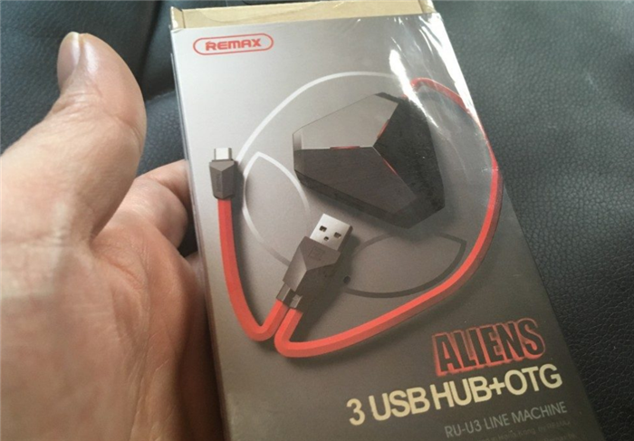 ALIENS 3 USB HUB+OTG RU-U3 LINE MACHINE