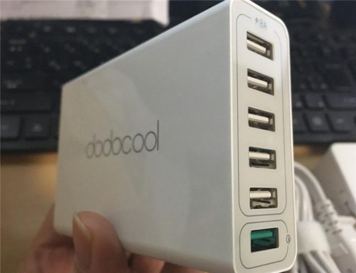 dodocool 58W 6ポート急速充電3.0対応
