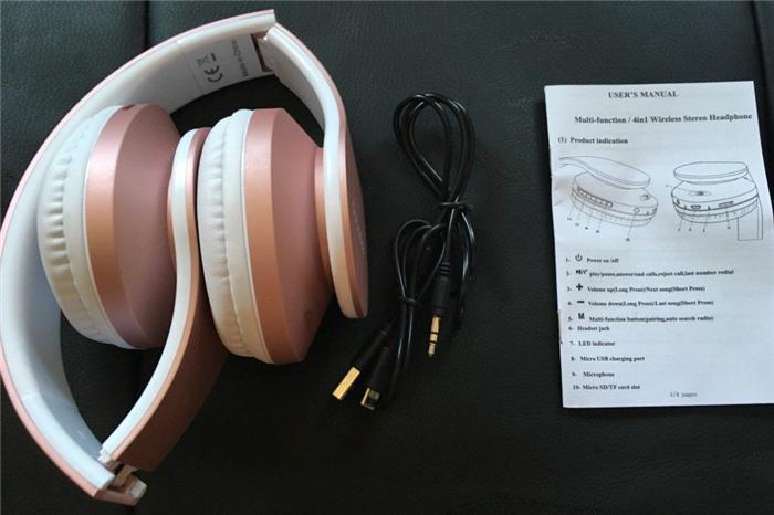 FMラジオ ワイヤレスヘッドホン