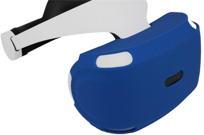 PSVR シリコンカバー装着イメージ