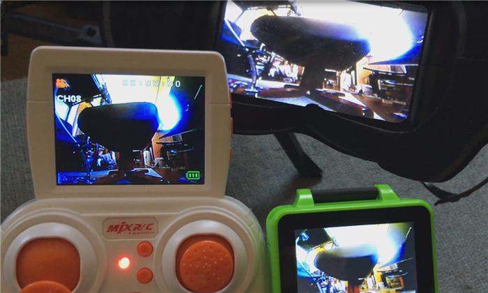MJX X906T コントローラー FPV録画機能