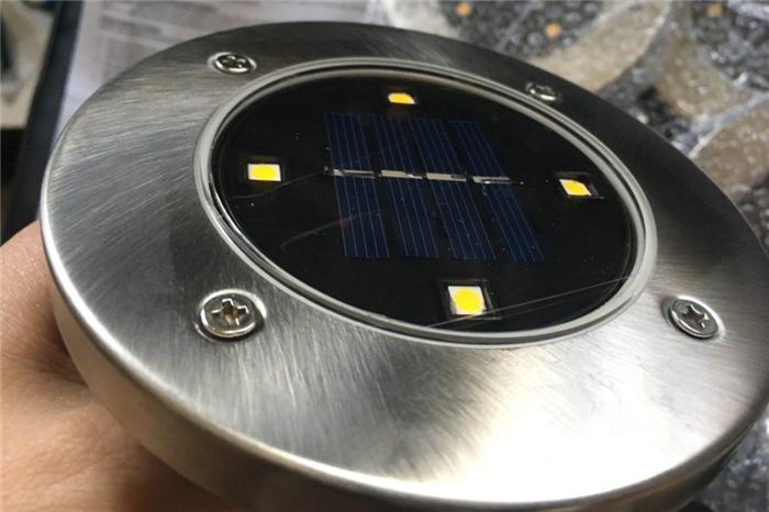 ガーデンライト LED ソーラー ステンレス