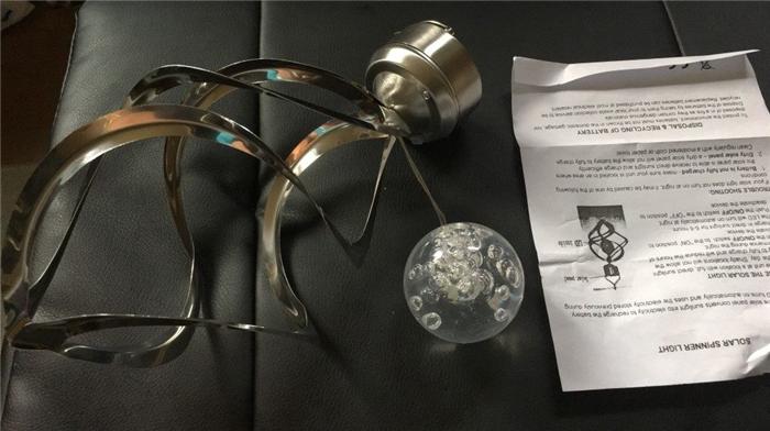 幻想的な吊り下げ式ソーラーLEDライト 梱包物