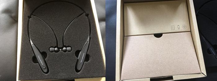 SoundPEATS  Q1000 本体 梱包が段ボール