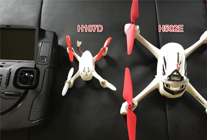 H502EとH107Dのサイズ比較