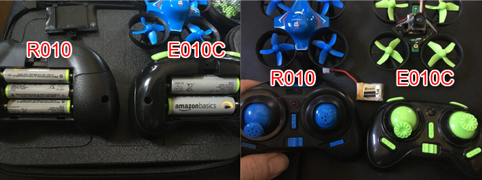 R010 E010C コントローラー比較