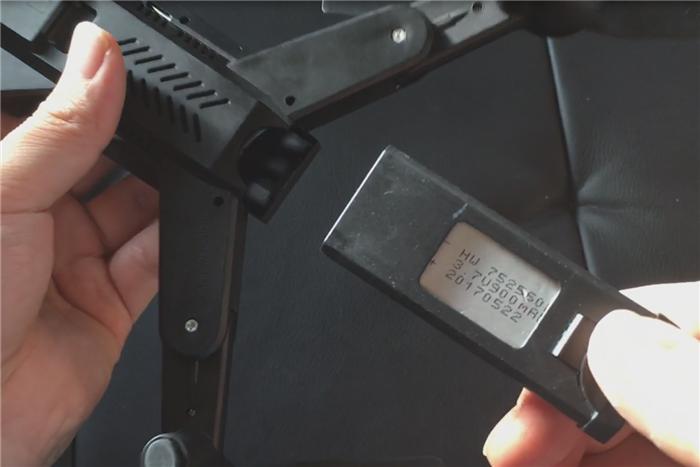 VISUO XS809HW 専用バッテリー