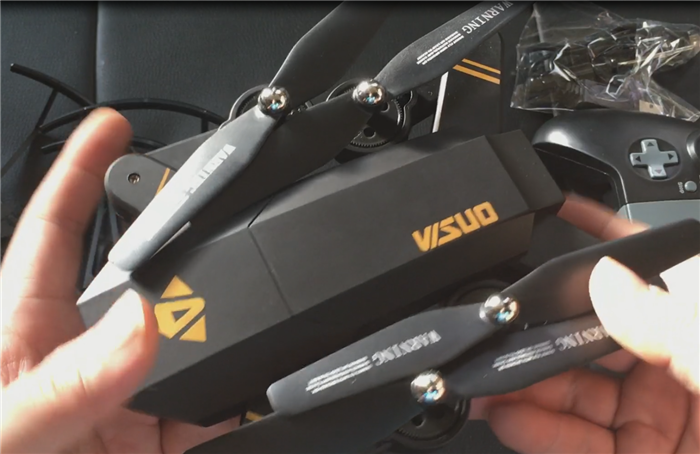 VISUO XS809HW 飛行レビュー 空撮安定!ビュンビュン飛ばせる折りたたみドローン