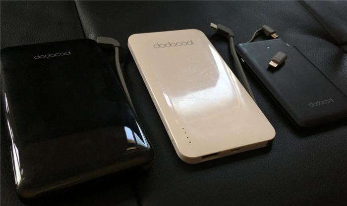 dodocoolモバイルバッテリー ケーブル付き