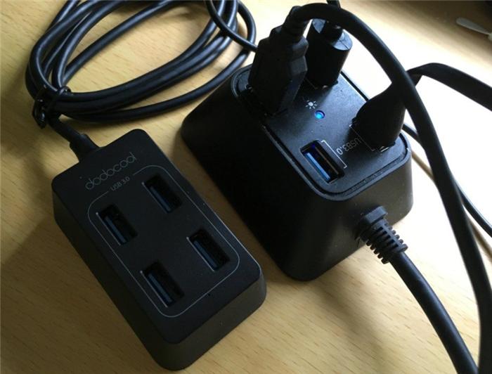 台形 4USB USB3.0HUB