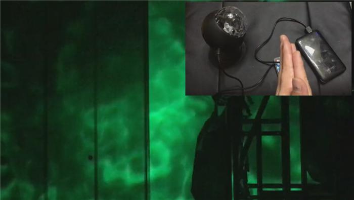 リップル効果LED カラオケ