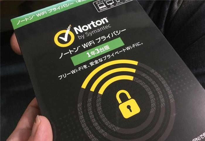 ノートン WiFi プライバシーが届きました