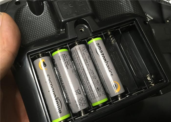 VATOS 送信機 電池6本