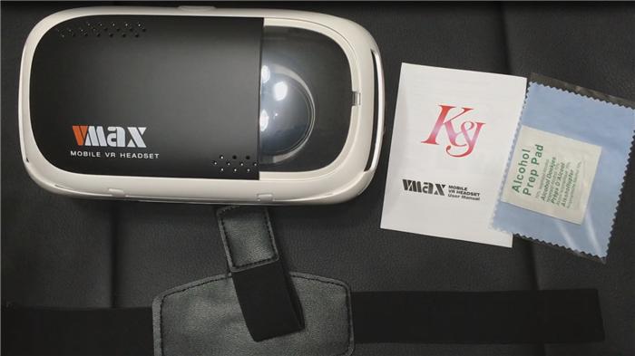 スマートフォンVR K&J 3Dゴーグルレビュー
