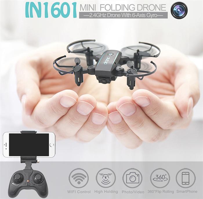 Linxtech IN1601ミニドローンレビュー 超小型自動ホバリング+カメラ性能が高い!