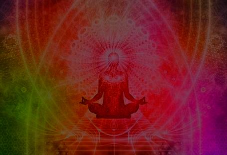 目を瞑ると見えていた光の粒子