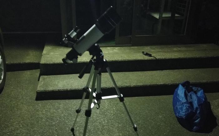 天体望遠鏡 実践