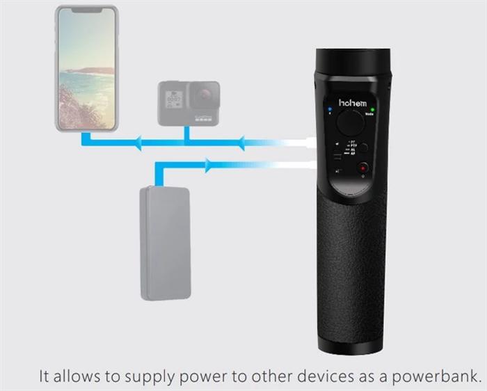 hohem iSteady Pro 2 モバイルバッテリー