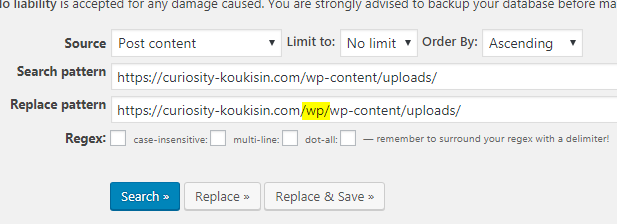 wp画像が表示されない