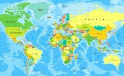 世界地図 標準