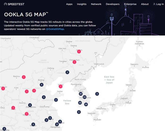 5G 基地局マップ