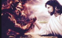 天使と悪魔の戦い