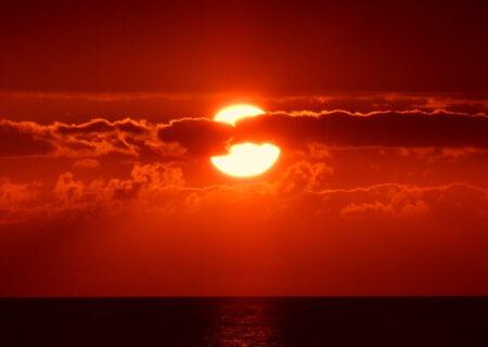 急に太陽が高くなった日