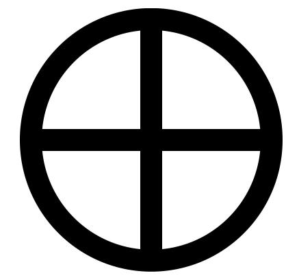 地球の惑星記号